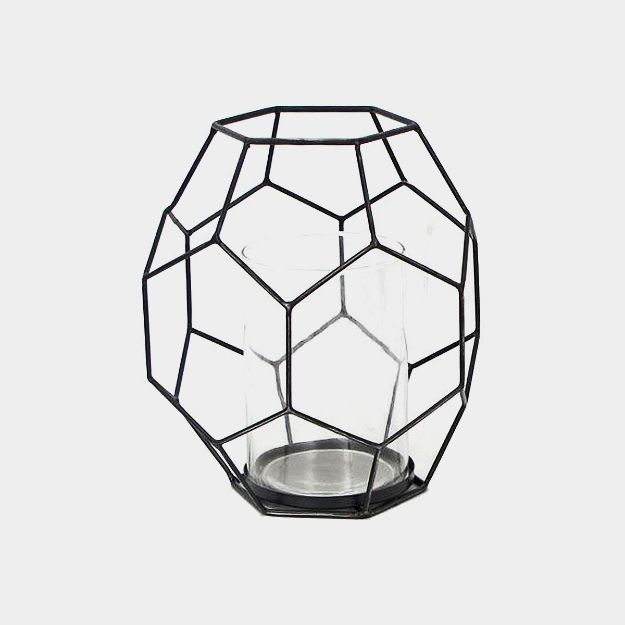 Picture of Candle Holder Abstract Hexagon